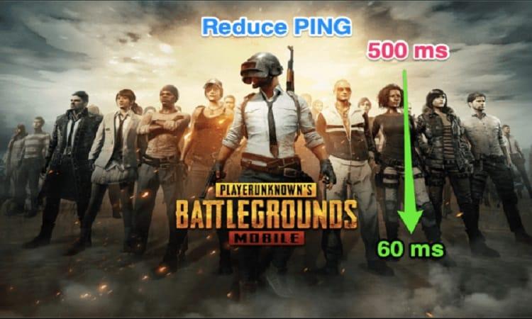 إصلاح مشكلة ارتفاع البينج PING و التجمد في لعبة ببجي