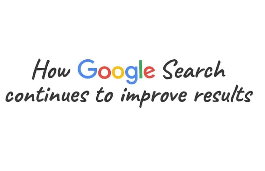 جوجل يشرح كيفية تحسين نتائج البحث