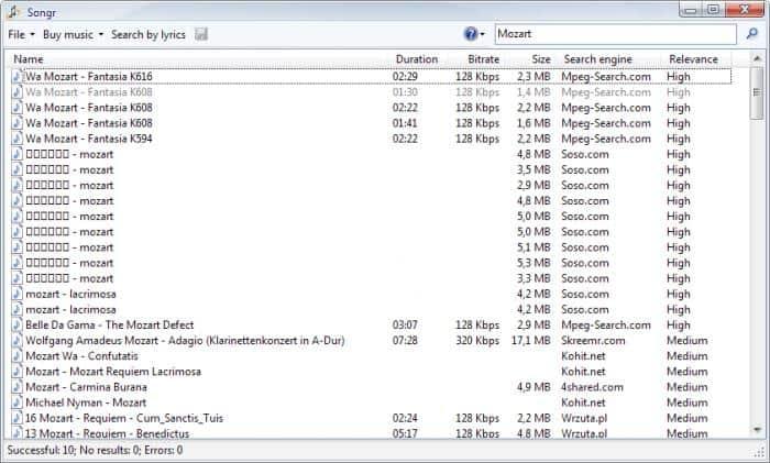 songr تحميل برنامج الأغاني و الموسيقة المجانية