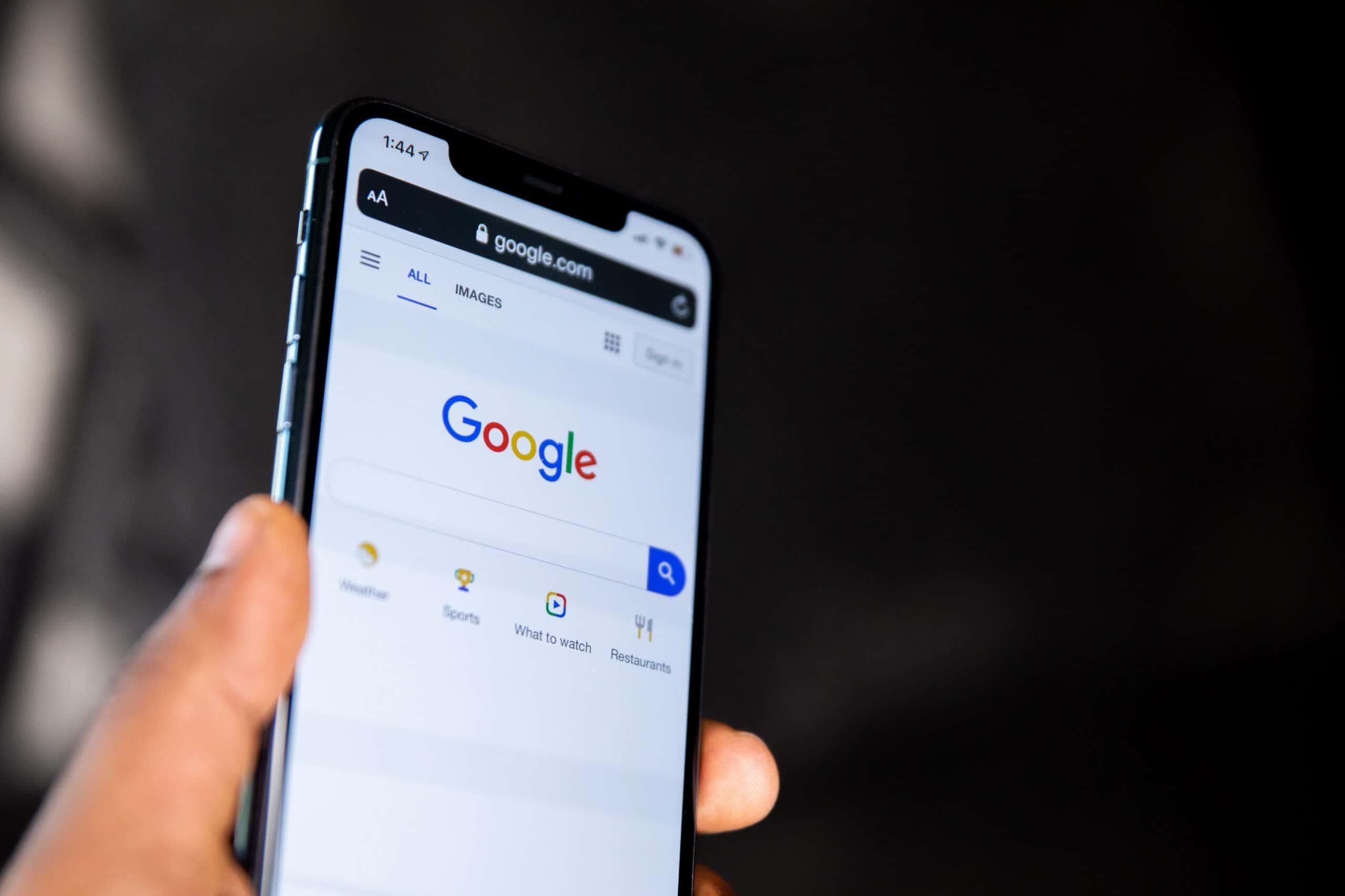 جوجل - بحث الجوال