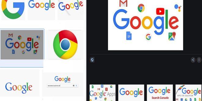 تصميم جديد لمحرك بحث الصور في جوجل