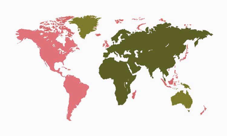 جوجل نطاق المستوى الأعلى والاستهداف الجغرافي عبر وحدة التحكم المشرف متساويان