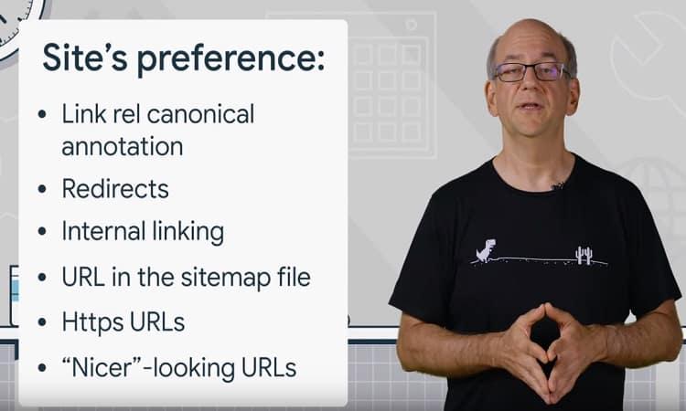 جوجل يشرح كيفية اختيار روابط Canonical