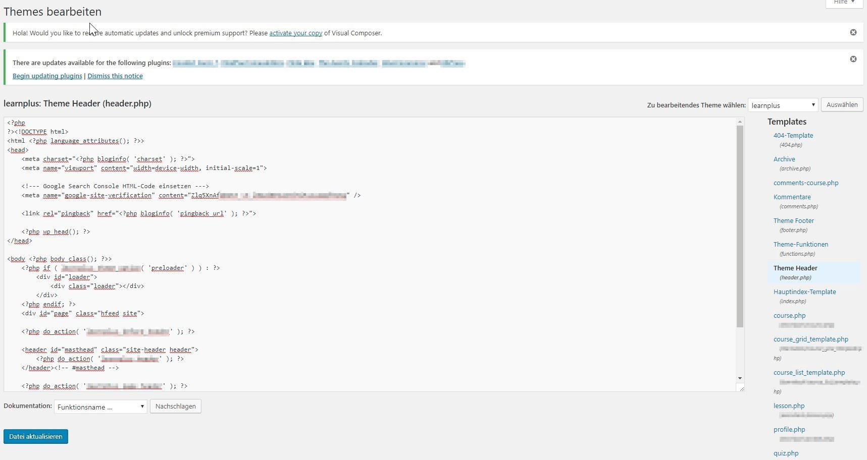 إيداع علامة HTML في كود HTML