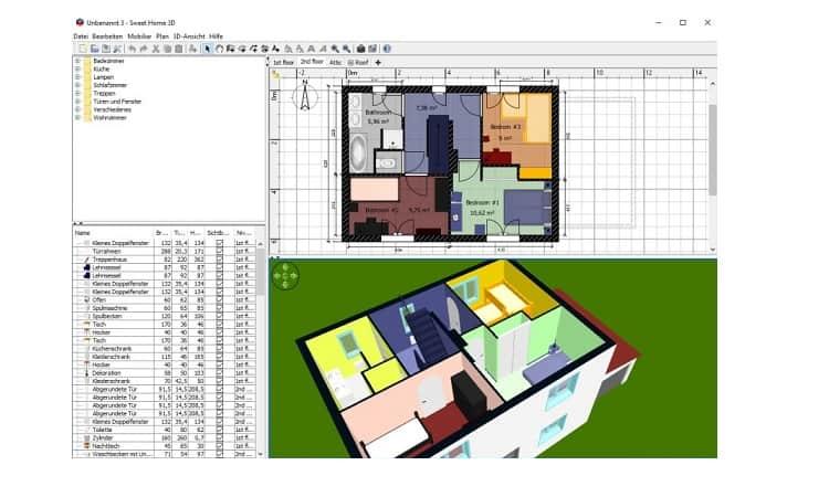 تحميل Sweet Home 3D سويت هوم مجانا
