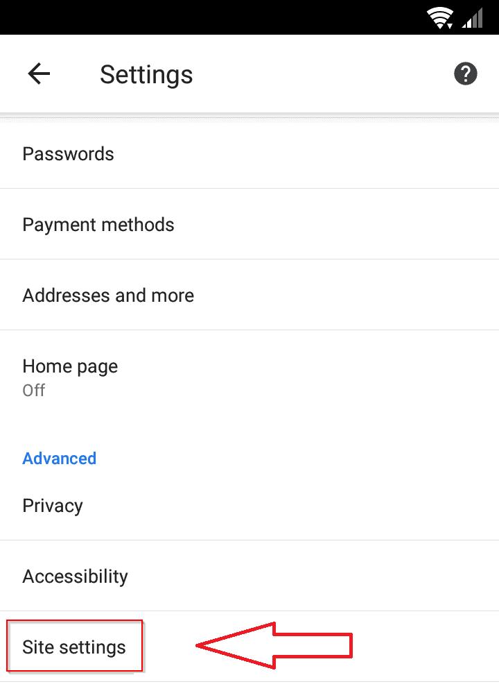 منع الاعلانات جوجل كروم اندرويد