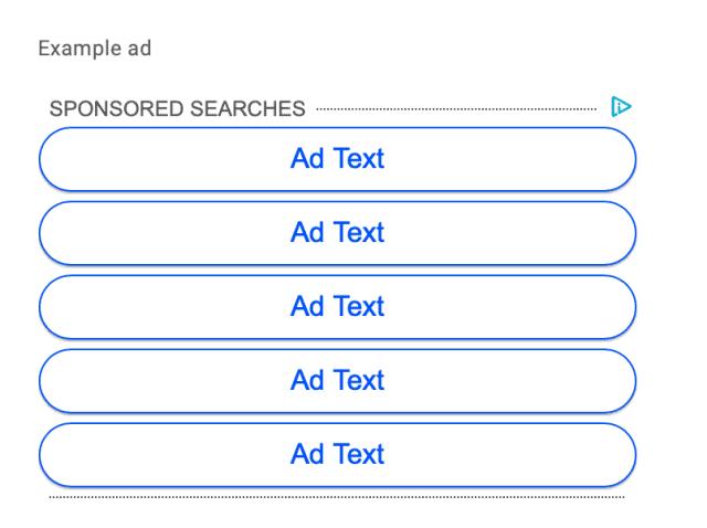 اعلانات الروابط جوجل أدسنس